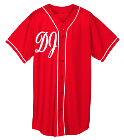 DJ Class Act-DJ Class Act-Dj - Custom Heat Pressed Adult Full Button Wicking Mesh Jersey  - 593 36D89AD1AB21