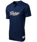 2018 - Custom Heat Pressed Padres MLB 2 button Youth Jersey  - MLB181 F5EA0197C3F6