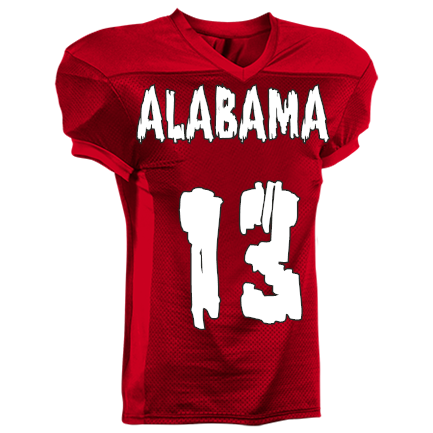 best sneakers 345b6 7afe3 ALABAMA-99-FORTUNE-99 - Custom Screen Printed Youth Uniforms Football,  Football Uniform Designer - 1363