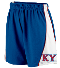 KY DISCONTINUED Augusta Ladies Wicking Mesh Basketball Varsity Shorts - 978
