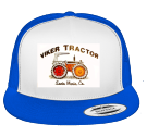 viker - Custom Heat Pressed Cotton Front Trucker Hat  - 6006W DD63F55AB2C1