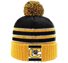 Cougar - Custom Heat Pressed Custom Knit Pom Beanie - 134 A2881449A68A