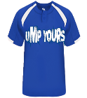 Ump Yours - Custom Heat Pressed Adult Baseball Jersey - 793200 5BDC4A0A340B
