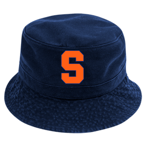 a03e49d86c954d Syracuse Bucket Hat - Custom Heat Pressed Short Brim Custom Bucket Hats -  961 3BAB7D628561
