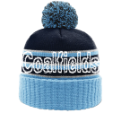 Coalfields - Custom Heat Pressed Custom Knit Pom Beanie - 134 78F6FB5EDBCC