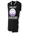 VALLEY-KINGS-23-MACION - Custom Heat Pressed Adult Backcourt Jersey - N2377 5DFB777DD523