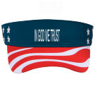 IN GOD WE TRUST - Custom Heat Pressed Pre Printed Visor Otto Cap 81-403 FE31F2E79A20