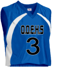 O.O.E.H.S-3-JEEVAN-3 - Custom Heat Pressed Adult Tip Off Basketball Jersey - Teamwork Atheletic - 1430 BF0C17B82418