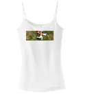 Me - Custom Screen Printed Spaghetti Strap Tank Top - DT232 A26BEEC50F59