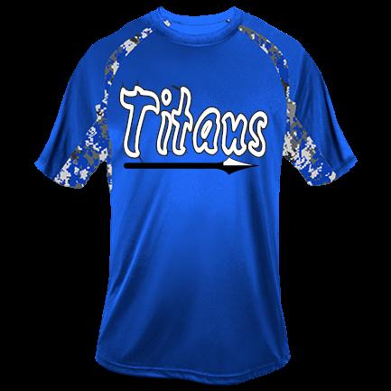 Blue-Camo-Titans-14 - Youth Digital Print Baseball Jerseys ...