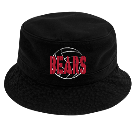 BEARS - Custom Heat Pressed Short Brim Custom Bucket Hats - 961 357A279F069D