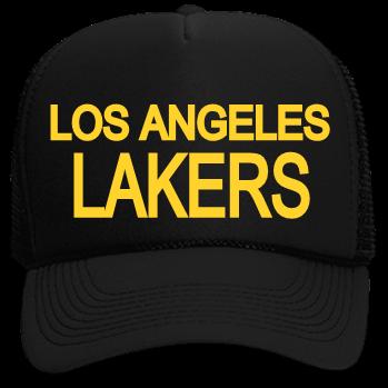 0e48b317715 LA GALAXY-LOS ANGELES-LAKERS - Neon Trucker Hat