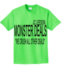 """WE CRUSH ALL OTHER DEALS"" - Custom Heat Pressed Design Custom Neon T-shirts 9E7BB2C01A46"