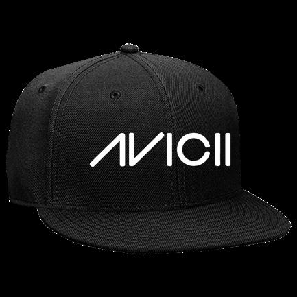0435ee0d3 AVICII - Custom Heat Pressed Snapback Flat Bill Hat - 125-978