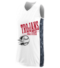 Trojans5All-Stars Girls Racerback Sleeveless Jersey