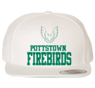 POTTSTOWN FIREBIRDS 2 - Custom Heat Pressed Classic Wool Snapback  - 6089MT C07B6DE9AF46