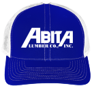 Abita Lumber - Custom Heat Pressed Cotton Twill Mesh Snapback - 112 ED4A524B94CF