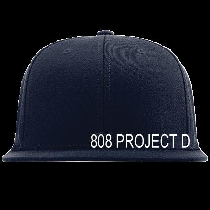デモグラペク LTD。-DEMOGRAPHIX LTD-808 PROJECT D - Custom Embroidered Custom Flat  Bill Flexfit Hat - 500s5
