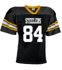 steelers - Custom Heat Pressed YouthTeam Football Jersey - Teamwork Athletic -1314 CBBBA22D12DF