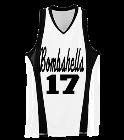 Bombshells17Kalie Ladies Wicking Mesh Basketball Jersey