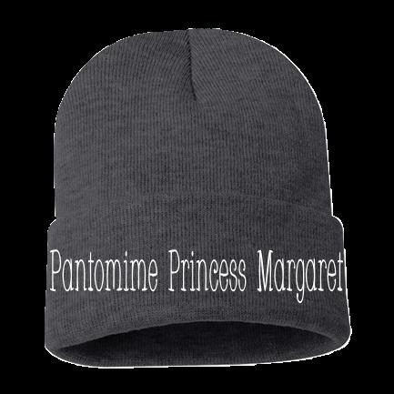 d6b60f798398b Pantomime Princess Margaret - Custom Screen Printed Adult Beanie - Sp12  6AFD9E9CC99C