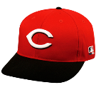 Finley - Custom Heat Pressed Cincinnati Reds - Official MLB Hat for Little Kids Leagues 5C41898264A2