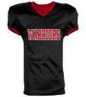 Warriors - Custom Heat Pressed Reversible Football Jersey Adult -1357 9BD5F9D23DC6