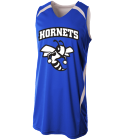 HORNETS - Custom Heat Pressed Youth Double Double Reversible Jersey - NB2372 985B6604345E