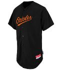 SHOWALTER - Custom Heat Pressed Orioles Full Button Baseball Jersey - Adult CDF8D5945BFE