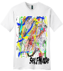 Selfmade  - Custom Screen Printed V-Neck Tee 3414FA213221