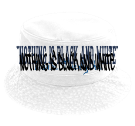 """Nothing is black and white""-EnviSci TwentyChai-Nothing is black and white-except this hat - Custom Heat Pressed Short Brim Custom Bucket Hats - 961 D562CD1DE8DX"