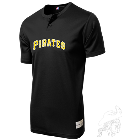 BlackfaldsBENOIT-11 Youth Pirates Two-Button Jersey - Pirates-MAIY83