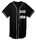BlackoutMorganScorpions Youth Full Button Wicking Mesh Jersey