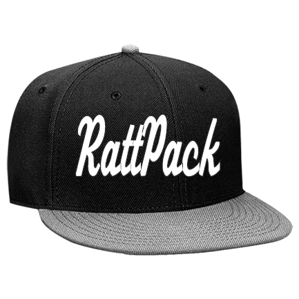 999aa23c4 RattPack-Logic - Custom Heat Pressed Snapback Flat Bill Hat - 125-978