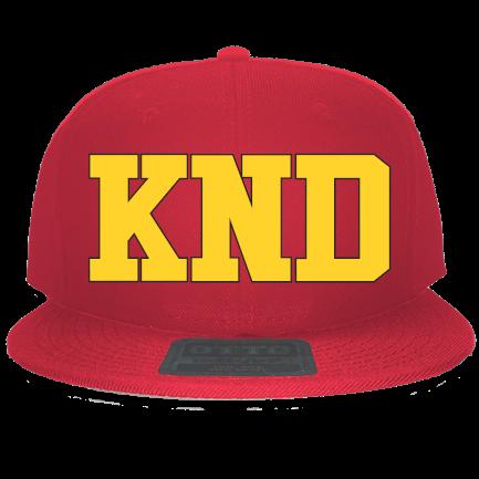 bf56195b29c86 KND - Custom Embroidered Snapback Flat Bill Hat - 125-978 2C11DC7EDF46