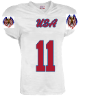 USA-11-Monsivais-11 - Custom Embroidered Youth Touchdown Steelmesh Football Jersey -Teamwork Athletic- 1306 71289B9966CF