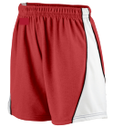 24- DISCONTINUED Augusta Ladies Wicking Mesh Basketball Varsity Shorts - 978