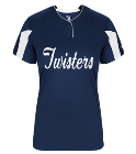 Twisters-Name-00 - Custom Heat Pressed Ladies Softball Jersey - 617600 EFB58D38A17B
