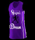 SpqniDream14 Girls Racerback V-Neck Jersey