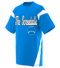 The-ScrewballsTaylor20 DISCONTINUED Adult Two Color Block Crew Neck Jersey  - 1610
