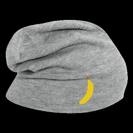 banana - Custom Embroidered Hipster Slouch Beanie - 146 1069 40C9FFCFFDAA d43076a9fae9