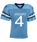 Jefferson 4-Jefferson-Jaguars - JAGUARS-4-RYAN-4 - Custom Heat Pressed YouthTeam Football Jersey - Teamwork Athletic -1314 48AE4D01AC69