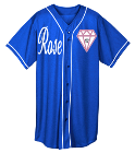 RoseQuartz- Youth Full Button Wicking Mesh Jersey