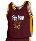 ERNESTO Lozano - Custom Heat Pressed Youth Basketball Jersey - Jammer Series - Teamwork Athletic - 1483 A181C04435L9