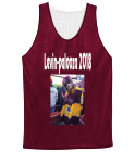 Levinpalooza 2018-turn it up to a-Levin-11 - Custom Screen Printed Adult Reversible Basketball Jerseys - NF1270 98FF46785600