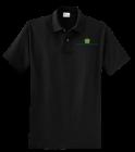 menspoloblk DISCONTINUED Company Shirts, Uniforms, Polos with logo - KP60