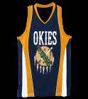 Okies Ladies Wicking Mesh Basketball Jersey