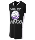 VK - Custom Heat Pressed Adult Backcourt Jersey - N2377 58F7F75907DB