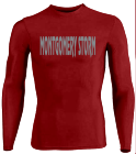 MONTGOMERY STORM - Custom Screen Printed Youth Stretch Tight Long Sleeve Jersey - Teamwork Athletic - 1812 D46AD7074891