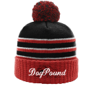 DogPound - Custom Screen Printed Custom Knit Pom Beanie - 134 5302E3E6015F